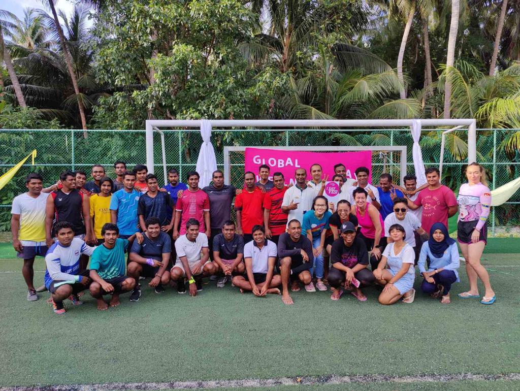 amilla maldives football