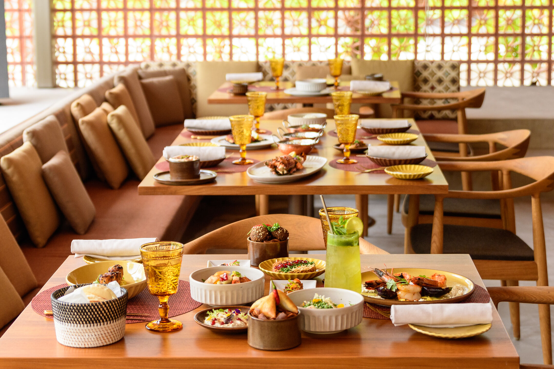 Arabesque restaurant.